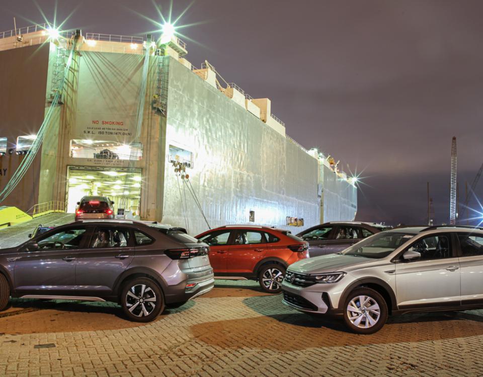 VW Nivus exportado para a Argentina