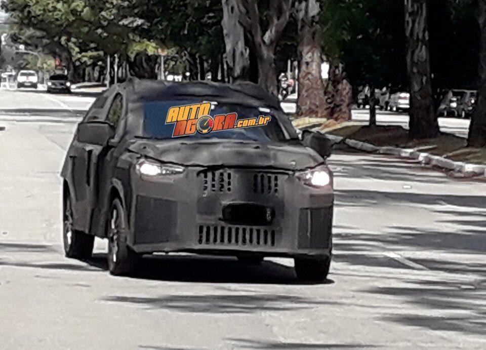 Segredo: SUV da Fiat roda em testes por São Paulo