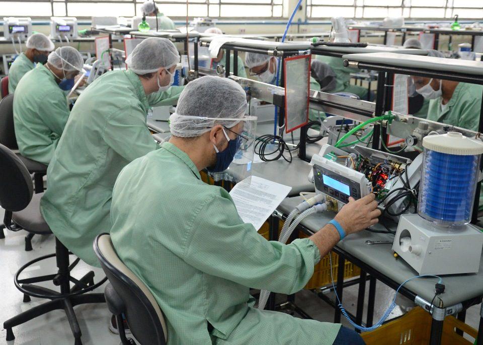 Toyota integra rede de empresas para produzir respiradores