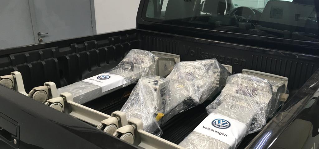 Volkswagen entrega ventiladores pulmonares recuperados