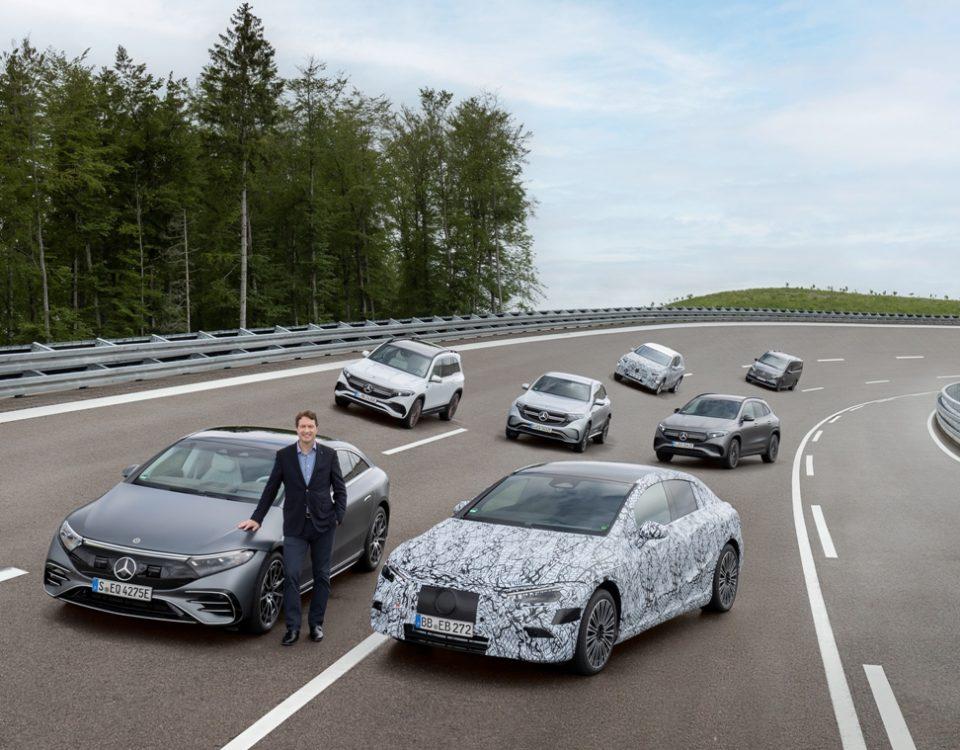 Mercedes-Benz será elétrica até o fim da década
