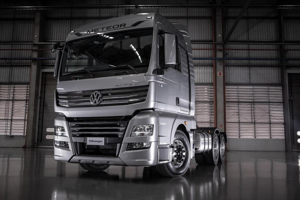 VW Caminhões lança extrapesados Meteor
