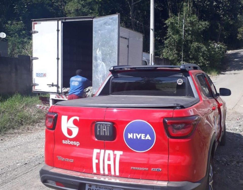 Fiat e outras empresas fazem doações para a população de baixa renda