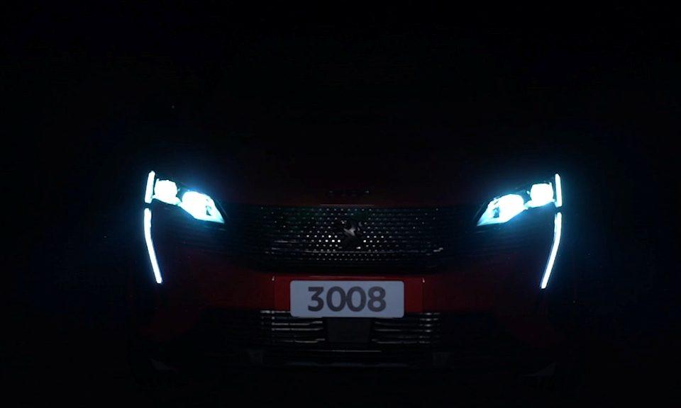 Peugeot mostra imagens do novo 3008