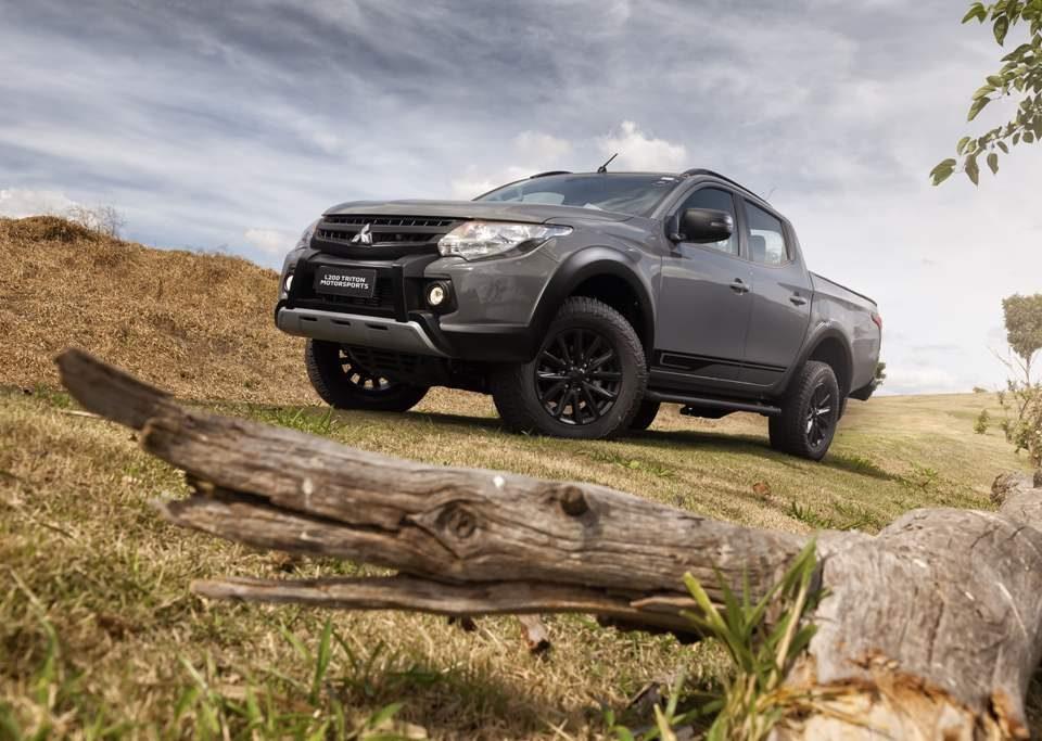 Lançamento: Mitsubishi L200 Triton Motorsports