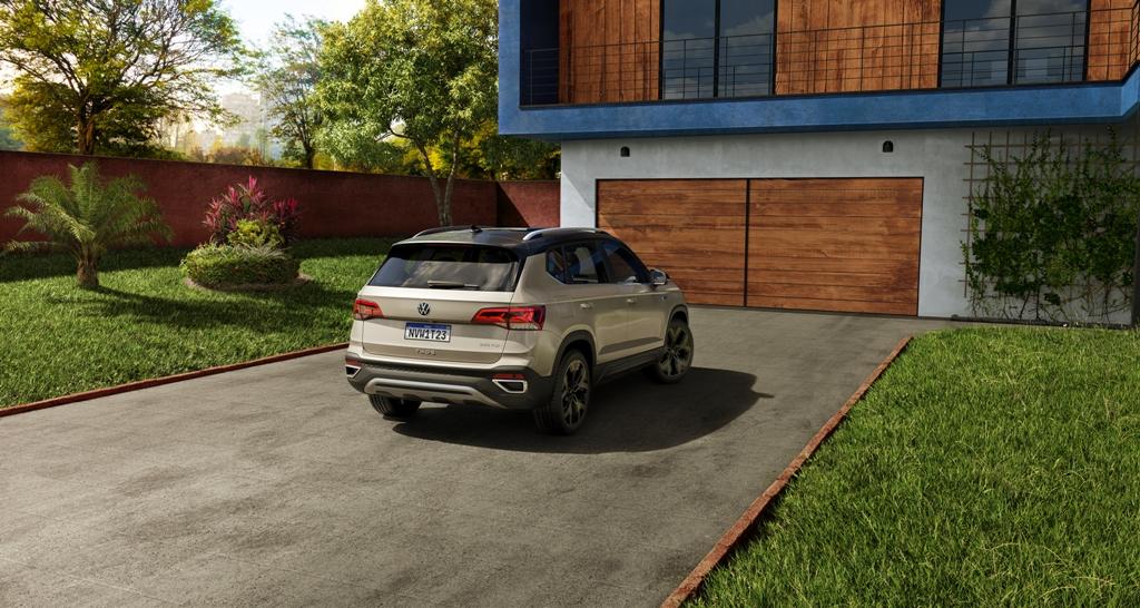Volkswagen apresenta o SUV Taos
