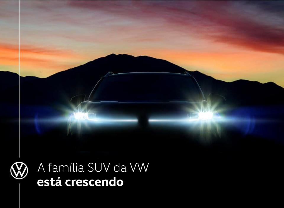 VW mostra teaser do SUV Tarek