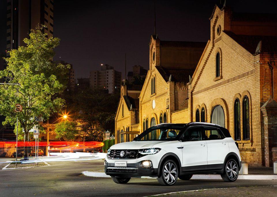 Lançamento: VW T‑Cross 2021recebe central multimídia VW Play