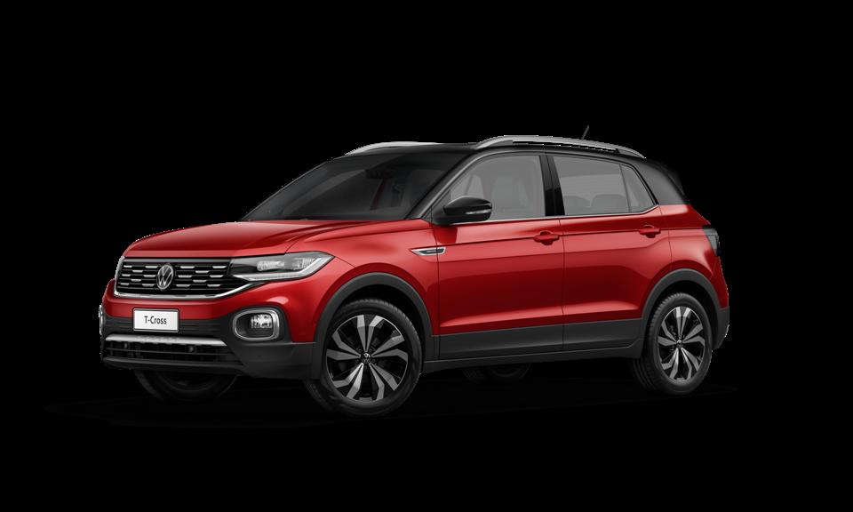 VW T‑Cross 2022 ganha painel digital