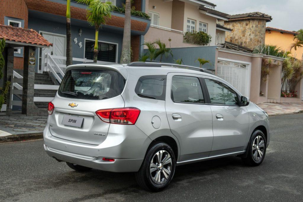 Lançamento: Chevrolet Spin 2022
