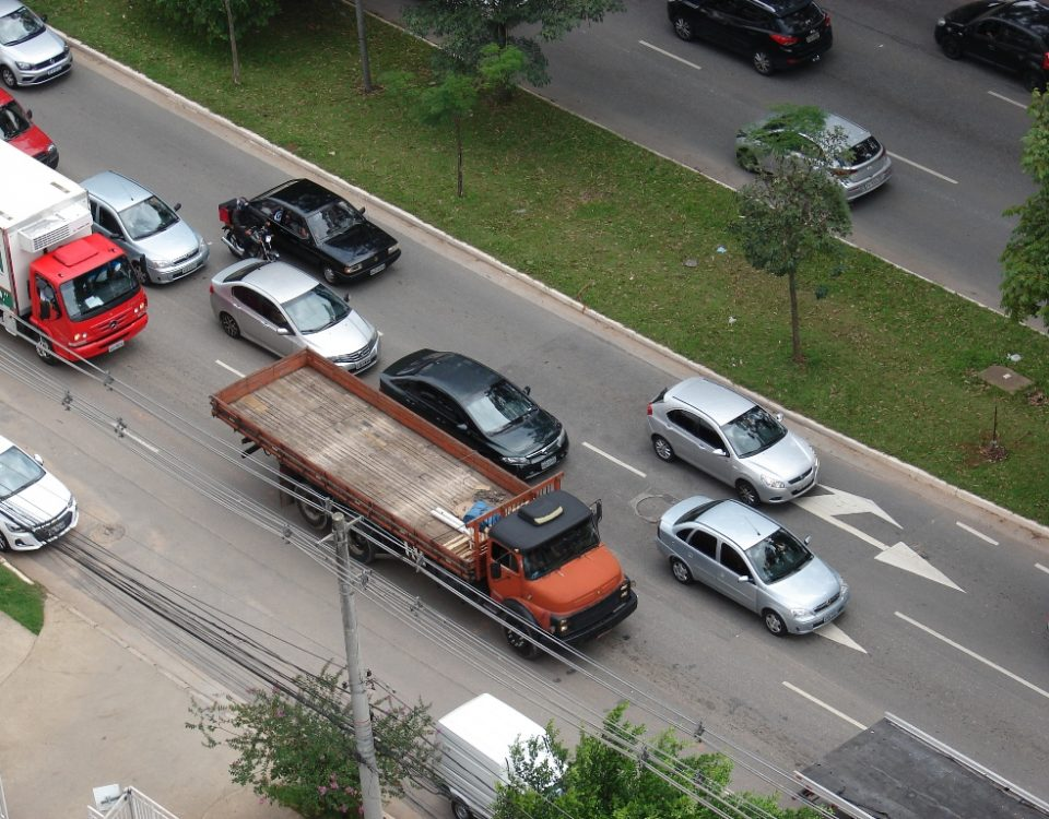 Manifestação contra o aumento do ICMS para automóveis em São Paulo