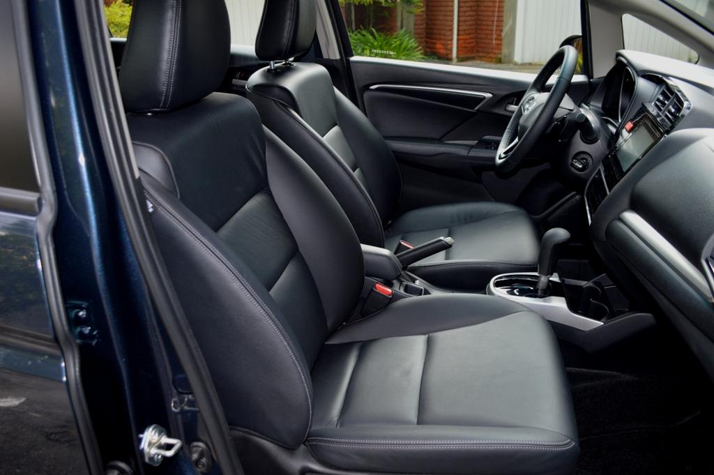 Avaliação: Honda WR-V EXL 2021/ Interior
