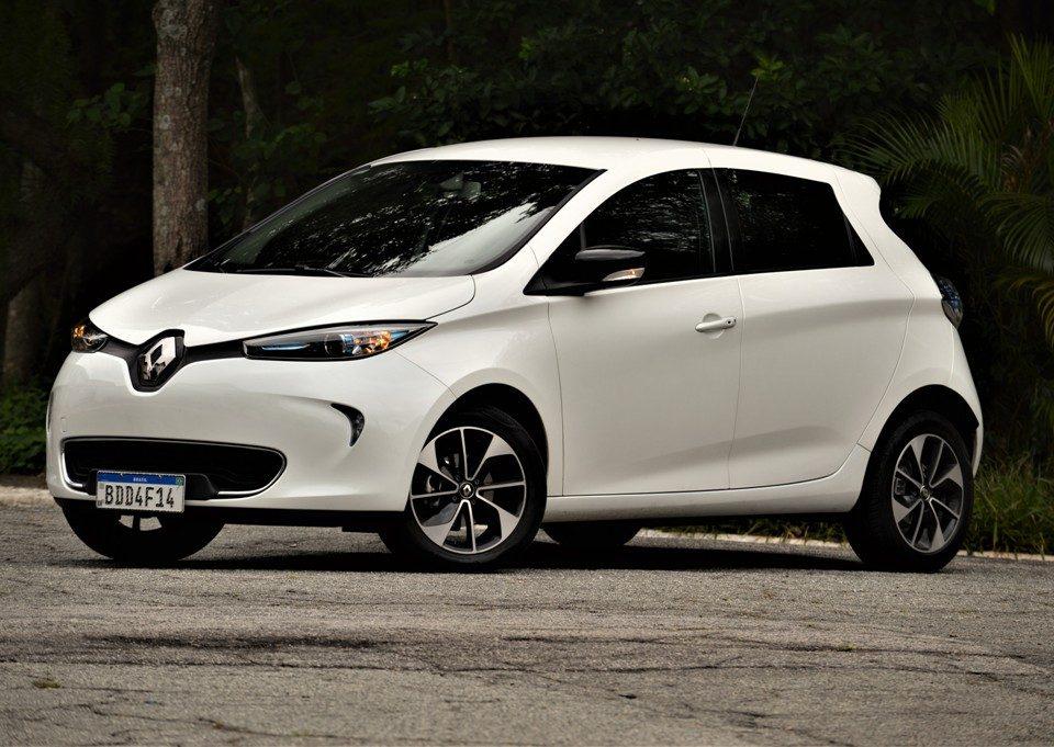 Avaliação: Carro elétrico Renault Zoe