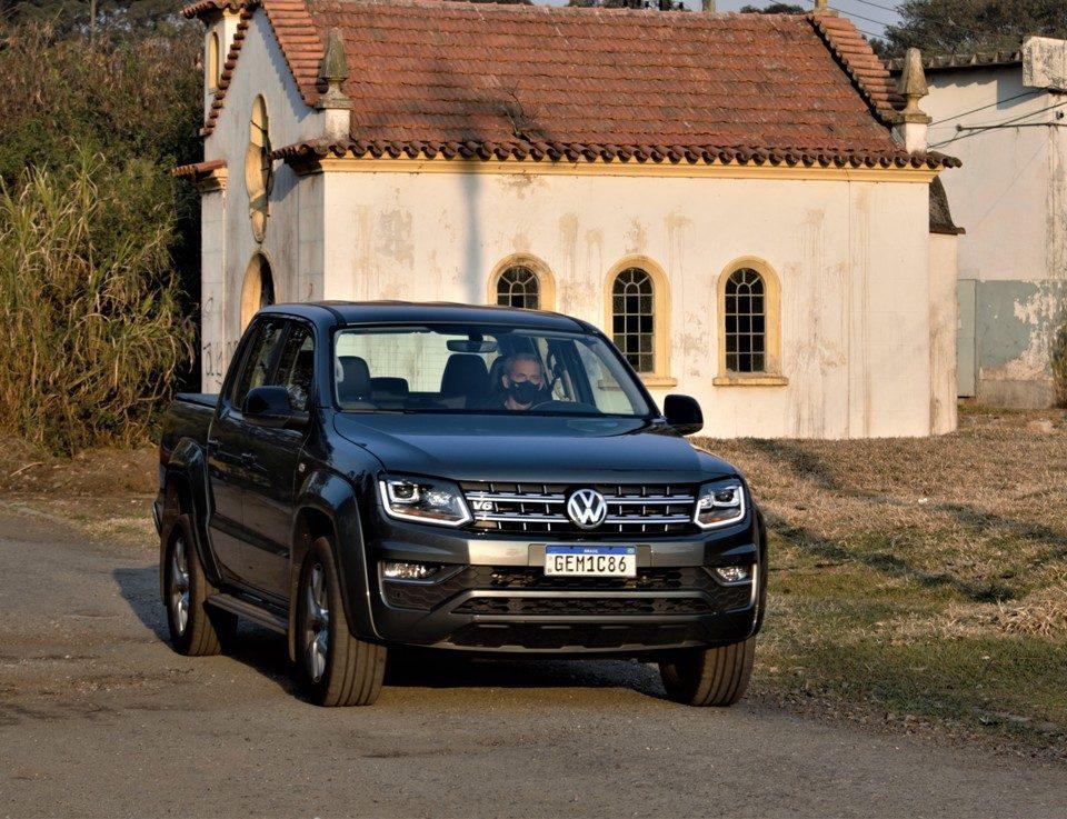 Avaliação: Picape VW Amarok V6 3.0 TDI Highline 2021