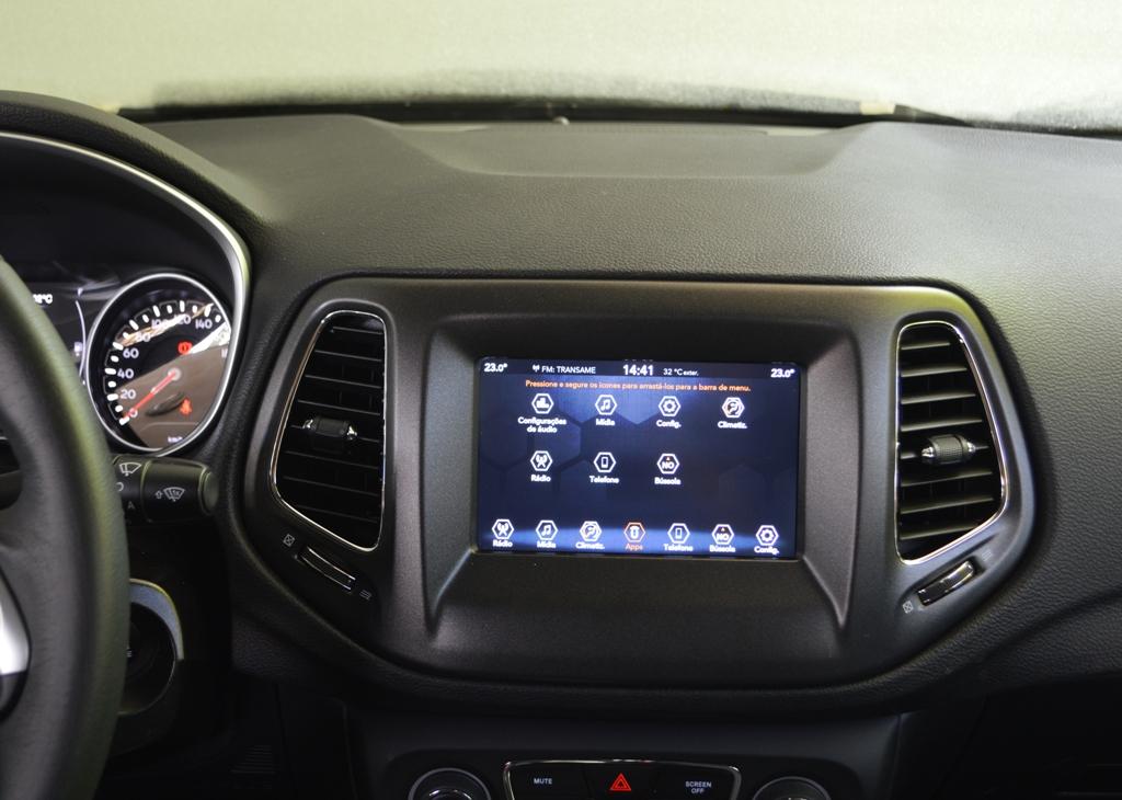 Avaliação: Jeep Compass Sport 2.0 Flex MY 2021/ Multimídia