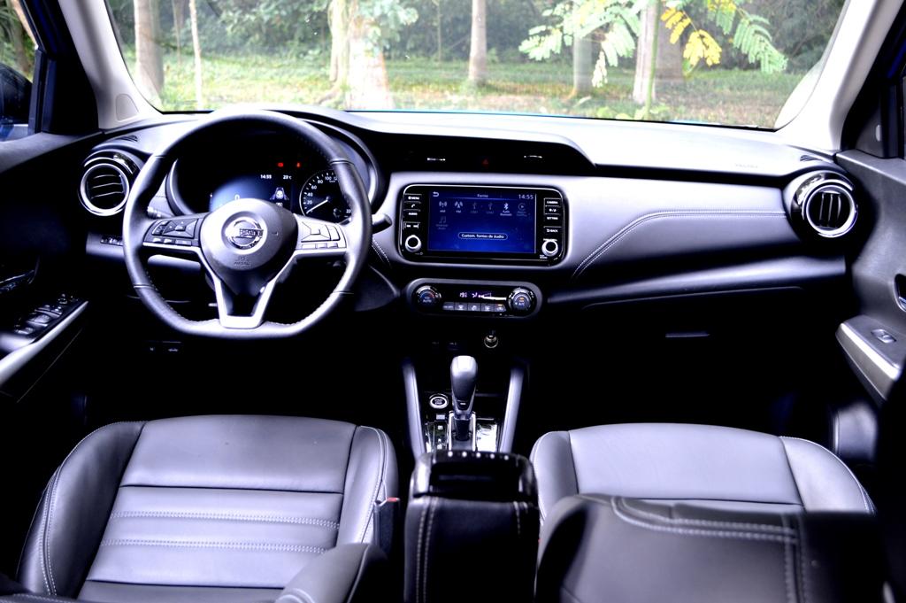 Avaliação: Novo Nissan Kicks Exclusive 2022 _painel