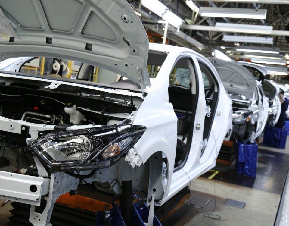 Produção de veículos continua a crescer