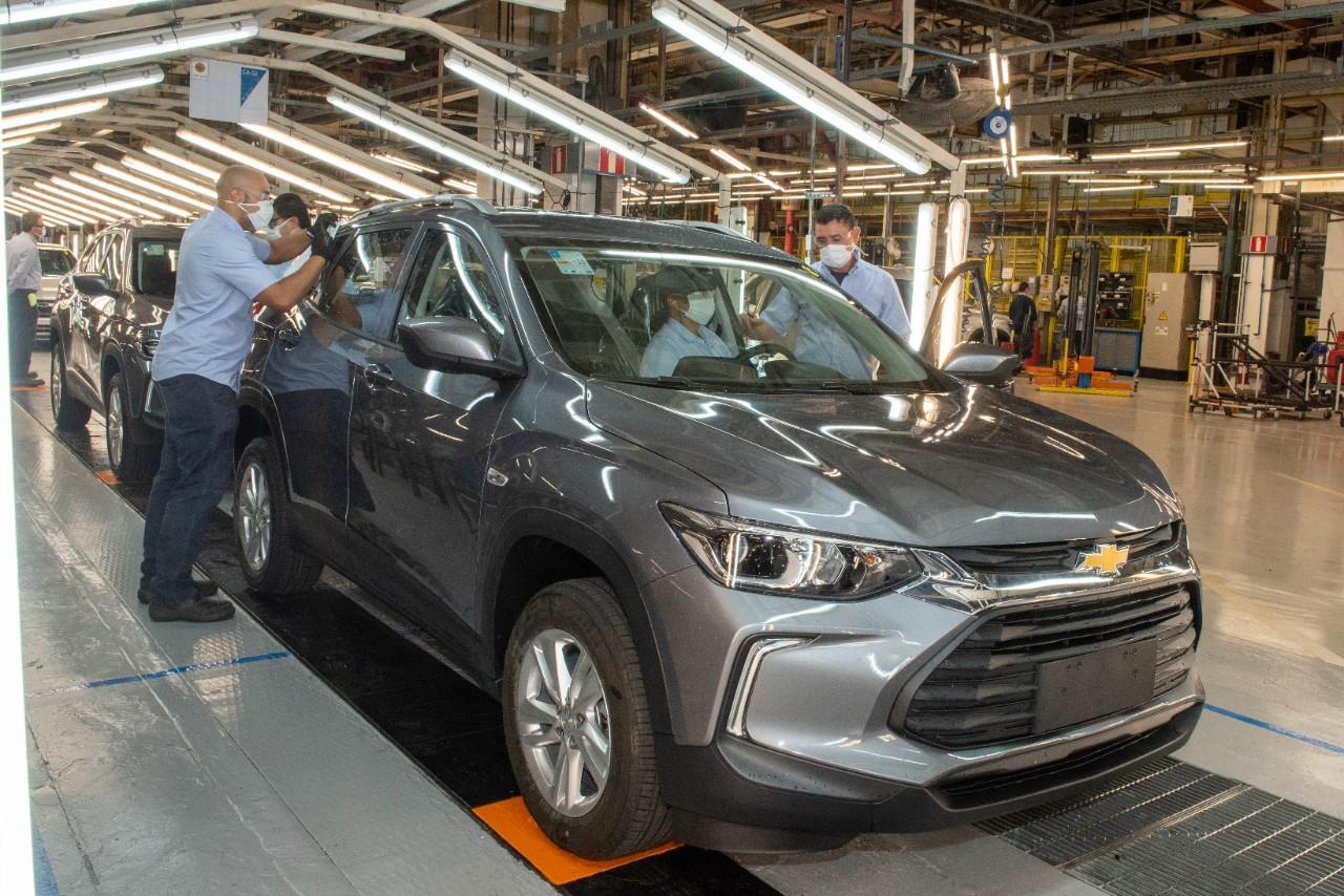 GM completa 96 anos no Brasil alcança marca de 17 milhões de carros produzidos