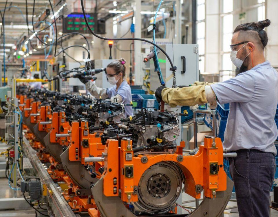GM comemora 1 milhão de motores produzidos