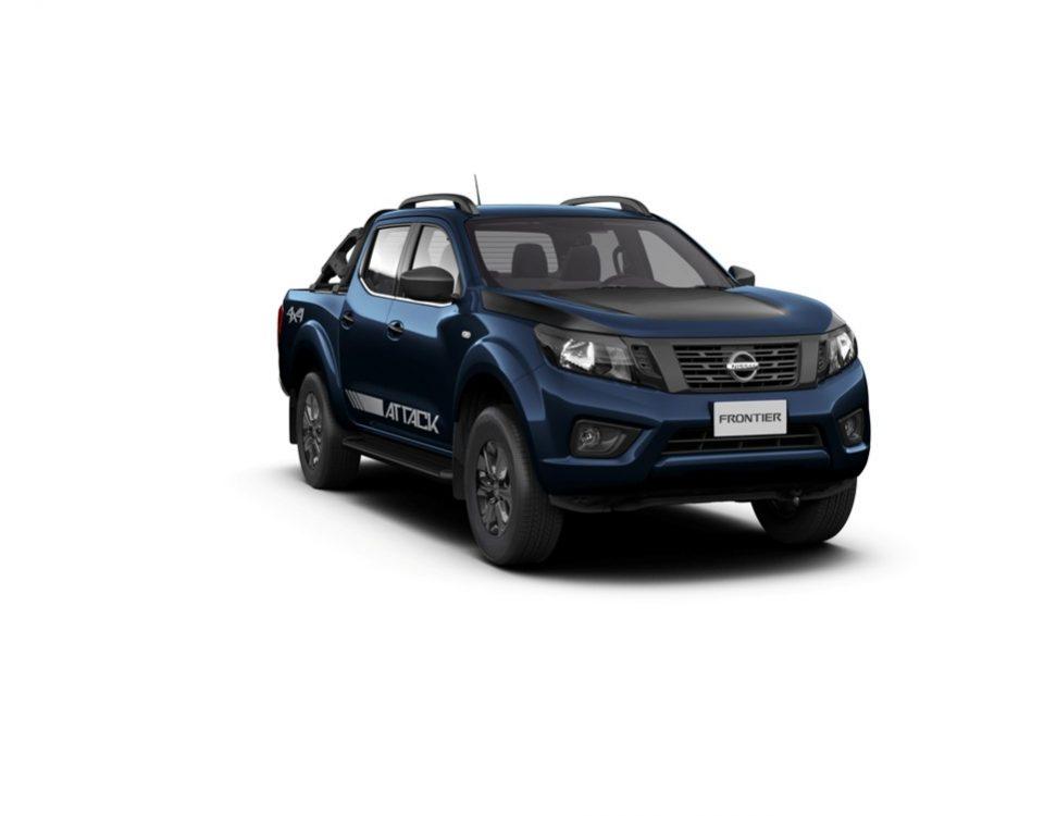 Duas novas opções de cores para a Nissan Frontier Attack