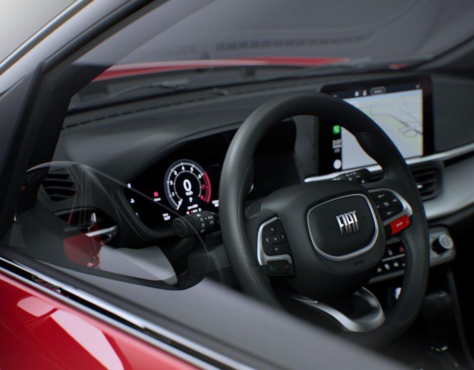 Fiat mostra interior do novo SUV Pulse