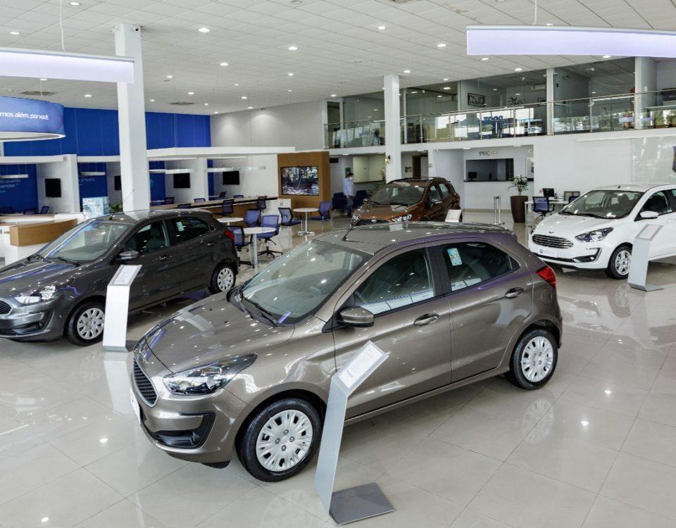 Estabilização no mercado de automóveis novos