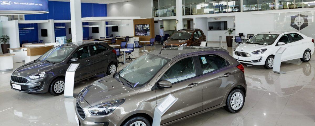 Ford higieniza e desinfeta veículos e concessionárias