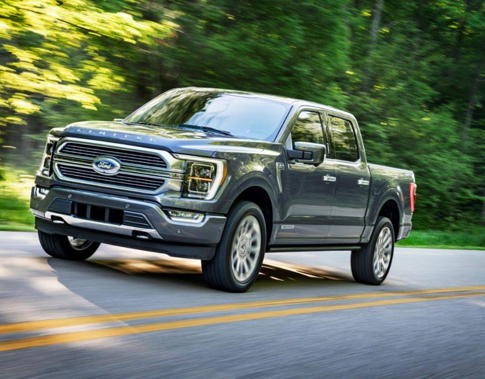 Ford apresenta a nova picape F-150 hibrida