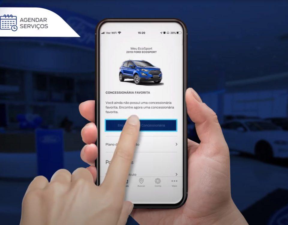 Ford Pass é o aplicativo para agendar revisões