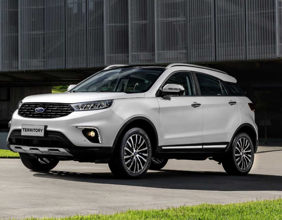 Lançamento: SUV chinês Ford Territory