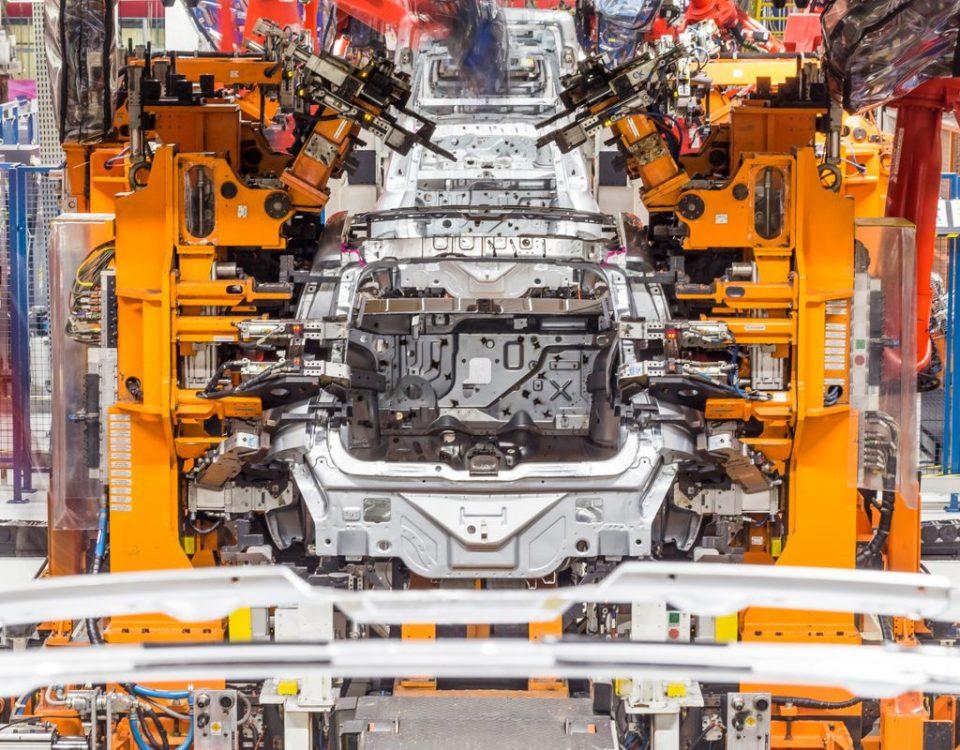 Caiu a produção de veículos
