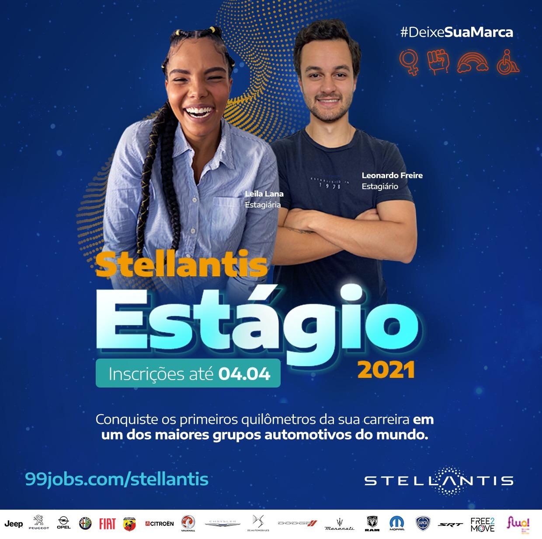 Inscrições abertas para estágio na Stellantis