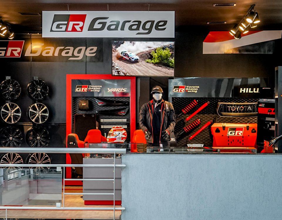 Toyota inaugura primeira loja GR Garage no Brasil