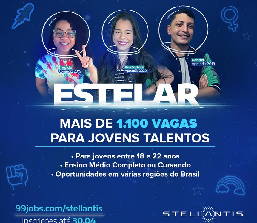 Vagas para jovem aprendiz na Stellantis