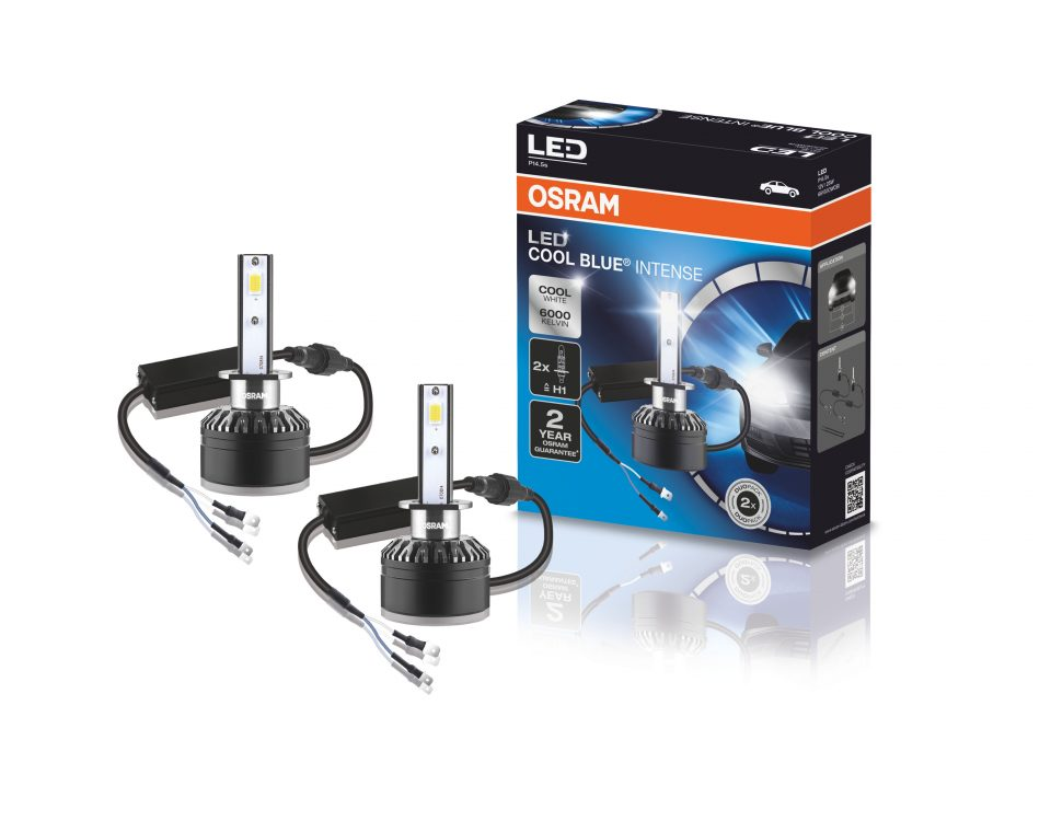 Nova lâmpada automotiva de LED da OSRAM