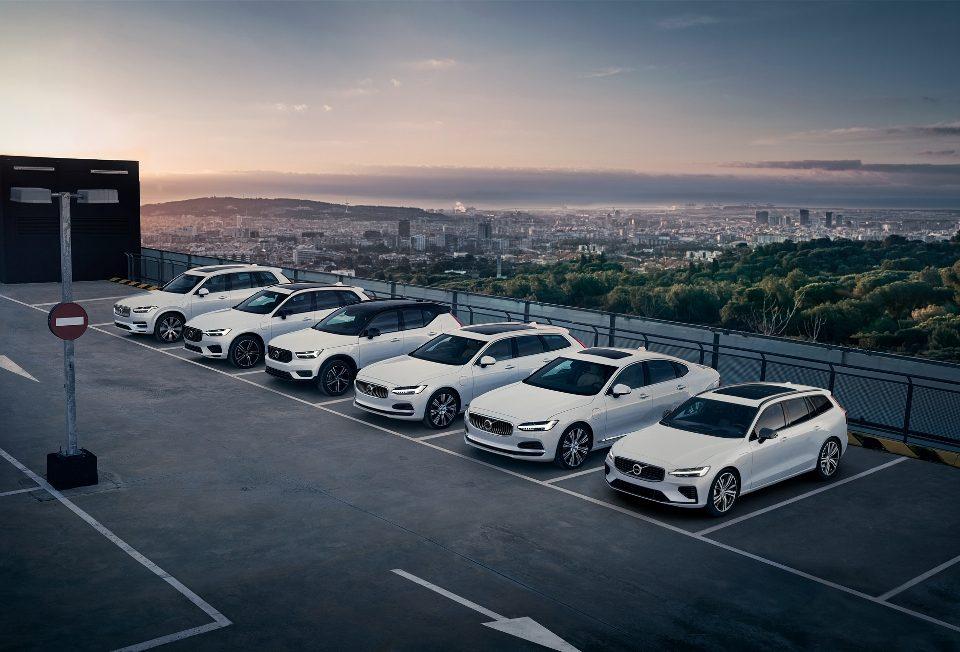 Volvo Car paga a conta de luz dos proprietários de veículos híbridos