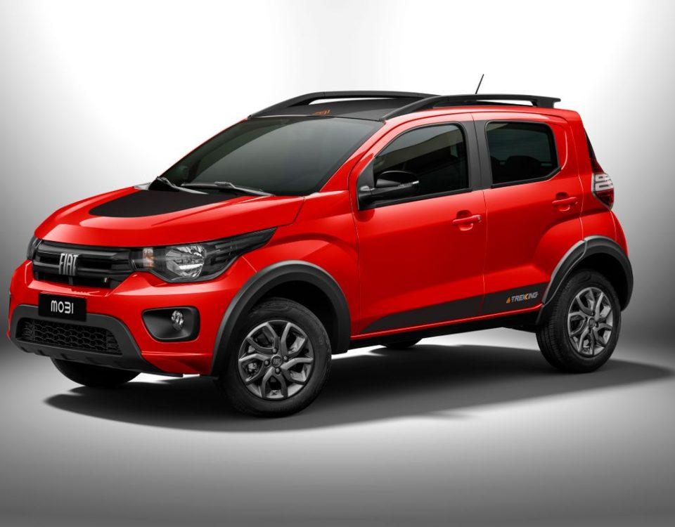 Lançamento: Linha Fiat Mobi 2021ganha versão Trekking