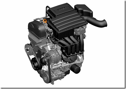 Motor 1.6 16V MSI
