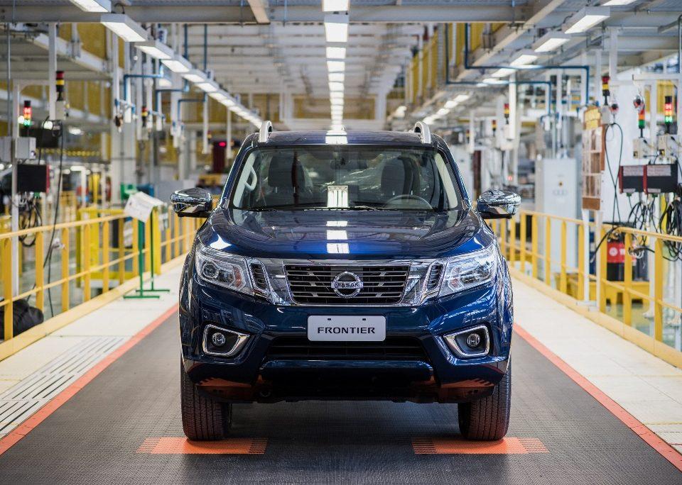 Nissan prepara o lançamento da nova Frontier