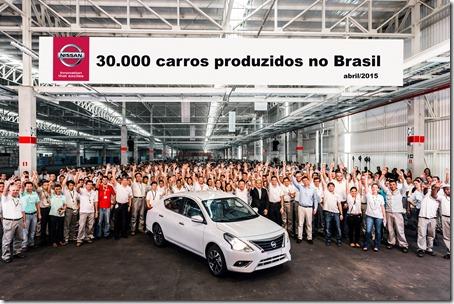 Nissan celebra el primer año de operaciones del Complejo Industrial de Resende con la producción de su unidad 30 mil
