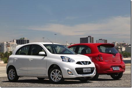 Nissan New March ganha moderno motor três cilindros de 1,0 litro