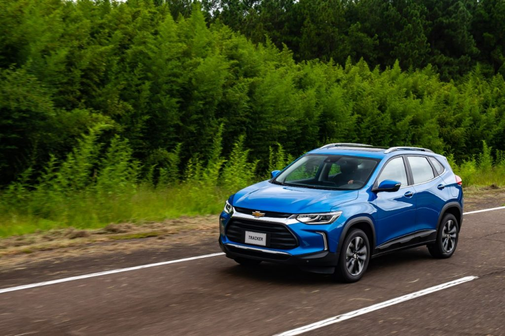 Chevrolet vende Novo Tracker no Mercado Livre