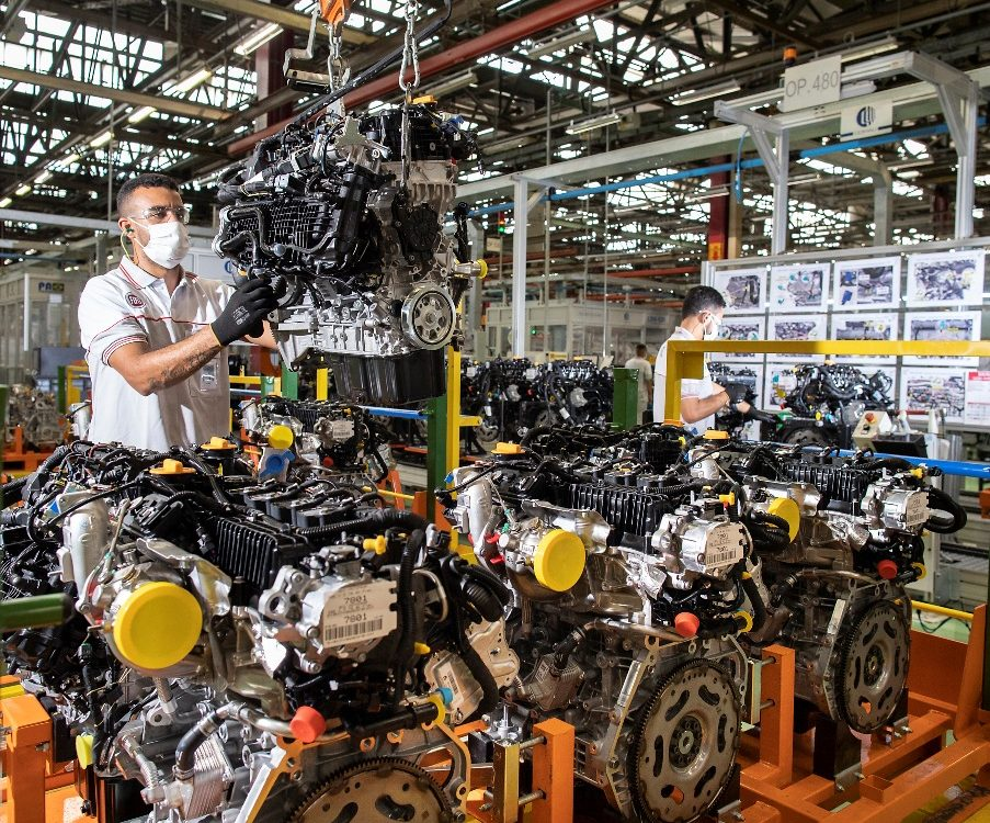Motor turbo para os veículos da Fiat Chrysler Peugeot e Citroën