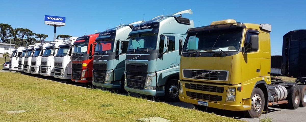 Volvo quebra recorde de vendas de caminhões seminovos em 2020