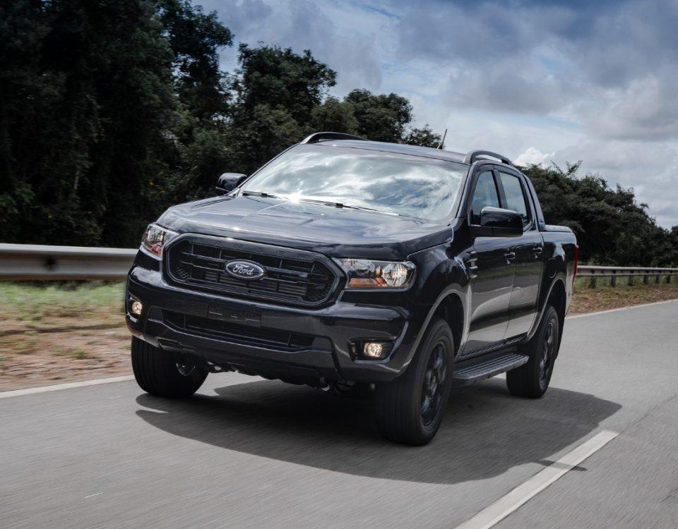 Lançamento: Nova Ford Ranger Black 2022