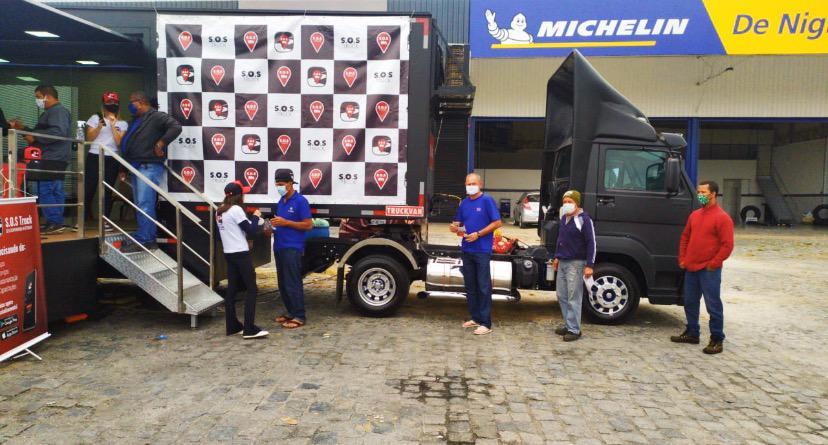 S.O.S Truck realiza testes grátis de Covid-19 em Roseira