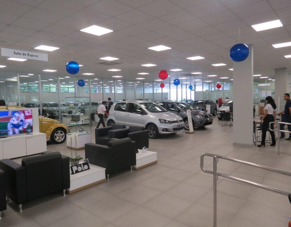 Vendas de automóveis crescem no primeiro semestre