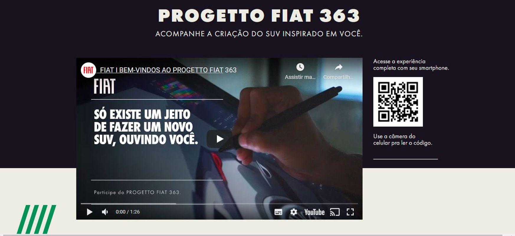 Começa a promoção do novo SUV da Fiat