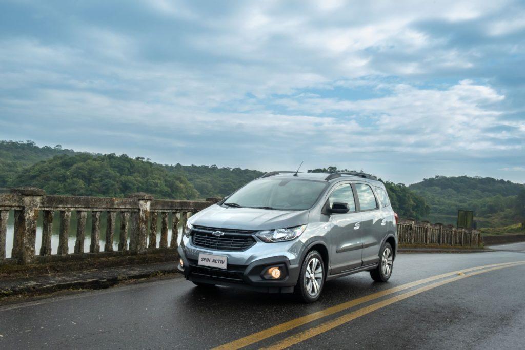 Lançamento: Chevrolet Spin 2021
