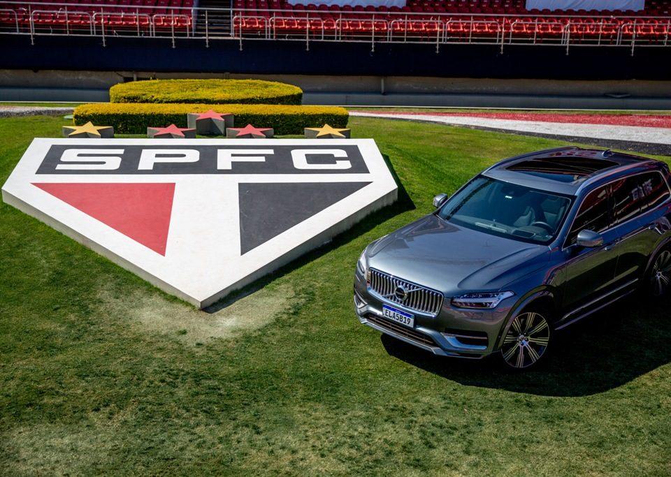 Volvo Car Brasil e São Paulo FC difunde a eletrificação